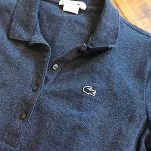Lacoste Dresses - Lacoste Slim Fit Mini Piqué Polo Dress size 40